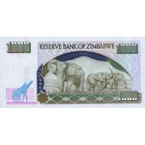 Grr-precioso Billete De Zimbabwe 1000 Dollars 2003-elefantes