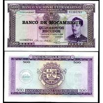 Billete Mozambique 500 Escudos (1967) Caldas