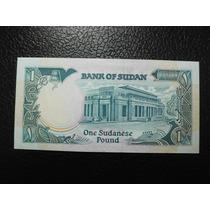 Sudan Billete Una Libra Fecha 1989 Nuevo Unc