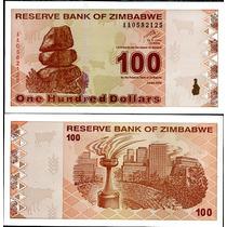 Zimbabwe 100 Dolares 2009 Css