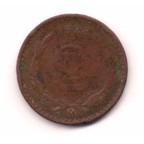 Moneda Dos 2 Centavos 1928