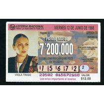 Billete De Loteria Viola Trigo
