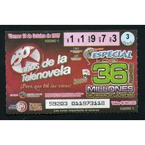 Billete De Loteria 50 Años De La Telenovela