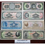 Coleccion De 8 Billetes Tercera Emicion Calidad Sin Circular