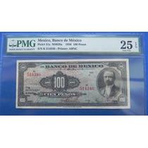 Billete Banco De México $100 Pesos 1936 Certificado C/firmas