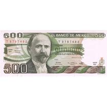 $500 Madero, Variedad Marca De Agua