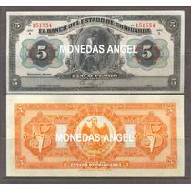Bk-chi-148 Billete De 5 Pesos Del Banco De Chihuahua