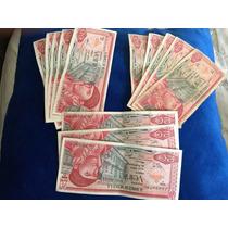 Lote De 13 Billetes De 20 Pesos Morelos