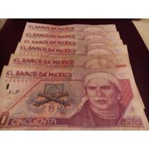 1 Billete 50 Nuevos Pesos Morelos, En Oferta!!!!!