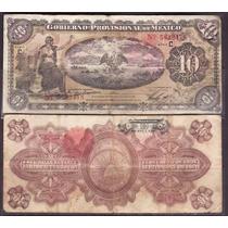 Mi-ver-37 Billete De Veracruz De 10 Pesos