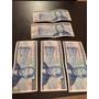 Lote De 5 Billetes Antiguos De 50 Pesos Benito Juárez