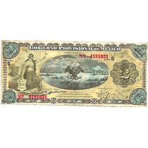 Papel Moneda 2 Pesos 1914 Revolucion Sv9