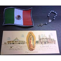 Billete Plástico De Virgen De Guadalupe Y Basílicas / México