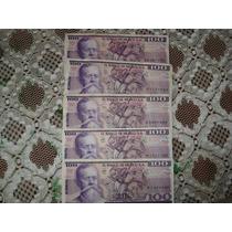 Billetes Antiguo De 100 Pesos De 1982 De Venustiano Carranza