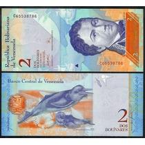Billete Venezuela 2 Bolivares (2007)