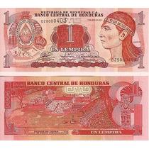 Billete Honduras 1 Lempira (2006) Ruinas De Copan