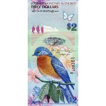 Grr-billete De Islas Bermuda 2 Dollars 2009 (2013) - Híbrido