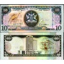 Trinidad Y Tobago 10 Dolares 2006 Fn4