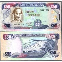 Jamaica 50 Dolares 2010 Lbf