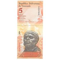 Billete Venezuela 5 Bolivares (2007) Armadillo O Cuspon