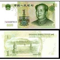 China 1 Yuan 1999 Mao Fn4