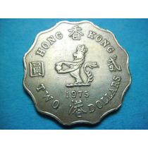 Hong Kong 2 Dolares 1975