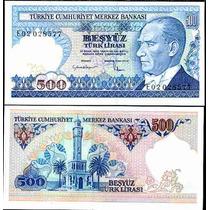 Turquia 500 Lirasi 1984 Idd