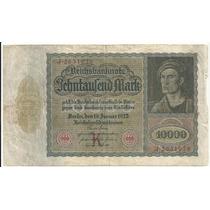 Billete Alemania 10,000 Marcos (1922)