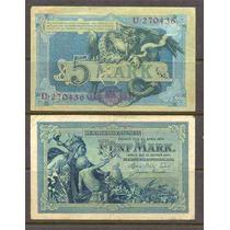Billete De Alemania Con Dragon De Mas De 100 Años