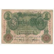 Billete Alemania 50 Marcos (1908) Lbf