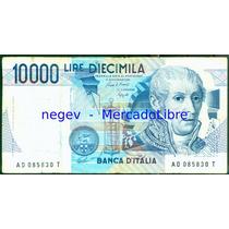 Billete Italia 10000 Liras P.#112 1984 Alessandro Volta