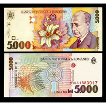 Rumania 5000 Leu 1998