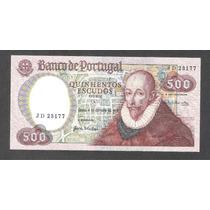 Billete De Portugal De 500 Escudos De 1979 Nuevo Unc