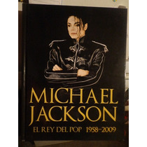 Libro Michael Jackson El Rey Del Pop Pasta Dura Tamaño Carta