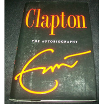Eric Clapton - Autobiografia Libro Music Rock Jazz Blues Vbf