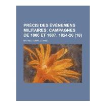 Precis Des Evenemens Militaires (18), Mathieu Dumas