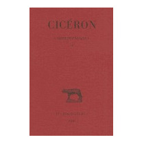 Ciceron, Correspondance: (avril 46, Marcus Tullius Cicero