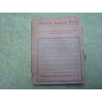 Librería Andrés Botas, Catalogo De Libros De Autores Mexican