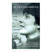 My View Is Incomplete: Selected, Jean Goldschmidt Kempton