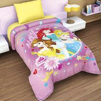 Cobertor Individual Providencia Princesas Excel Plus 3d