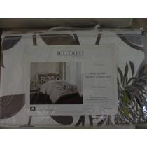 Cobertor Hillcrest 3 Piezas 100% Algodon Full/queen