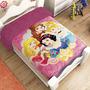 Cobertor Para Bebes Providencia Princesa Reverso Borrega