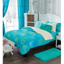 Cobertores Vianney Individuales Crayons Borrega Vianey Pm0