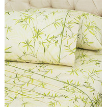 Juego De Sabanas Queen Size Asia Bambu Vianney Vianey Pm0