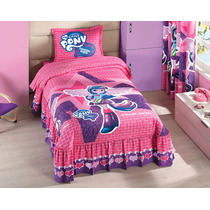 Colcha Individual Mlp Equestria Girls My Little Pony Concord