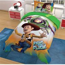 Edredon Matrimonial Disney Hd Toy Story + Fundas