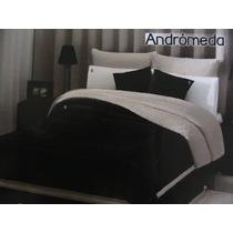 Cobertores Con Borrega, Negro (andrómeda) Y Gris (argos)
