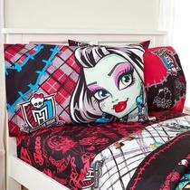 Sábanas Monster High Frankie Stein Draculaura Varios Modelos
