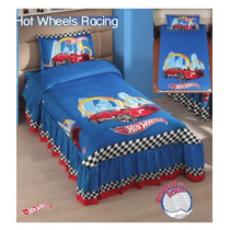 Colcha Hot Wheels Racing Individual Marca Concord