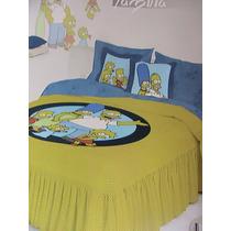 Juego De Edrecolcha The Simpsons La Familia